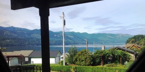 Michele's house - View of Hood Canal - Copy