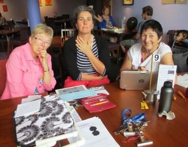 Judith (SA), Robyne (VIC) and Jo(WA)
