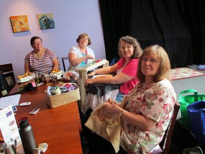 Leanne, Joy, Jen & Renate