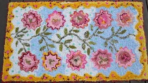 1_Flower_Path_2011_hooked_by_Robin_Inkpen