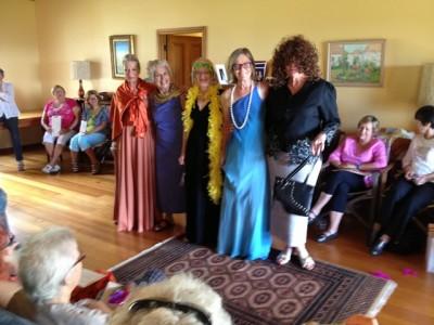 Models Christine Pearce, Anne Schafer, Elke Smith-Hill, Jenny Harber, Carol Reloar