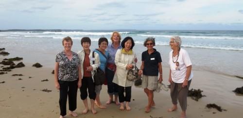 Rughookers at Narrawallee Beach