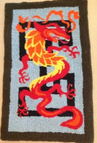 Dragon_designed_and_hooked_by_Tish_Carter_Strath_Matters_South_Australia