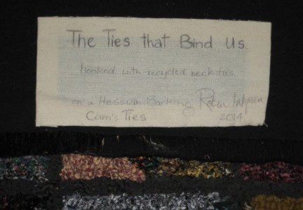 Ties_that_bind_memory_rug_designed_hooked_by_Robin_Inkpen_West_Australia_