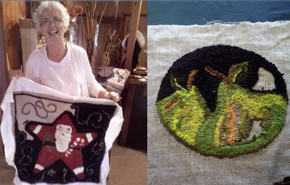 Anne's Christmas rug
