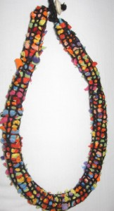 Fabric_necklace_multicolour_created_with_chunky-rugmaker_by_Maggie_Whyte_ACT_Australia