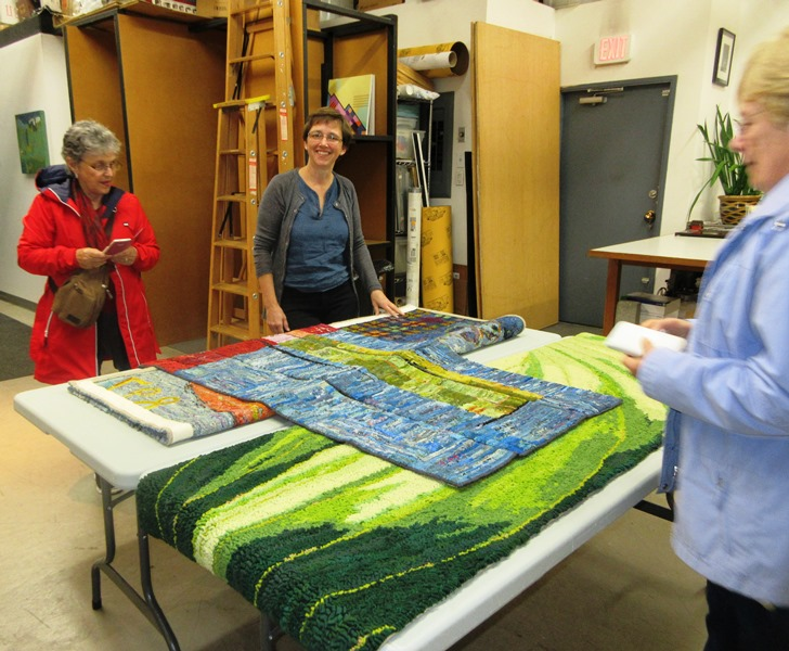 Michelle_Sirois_Silver_in_her_textile_art_studio_Vancouver_BC_Canada
