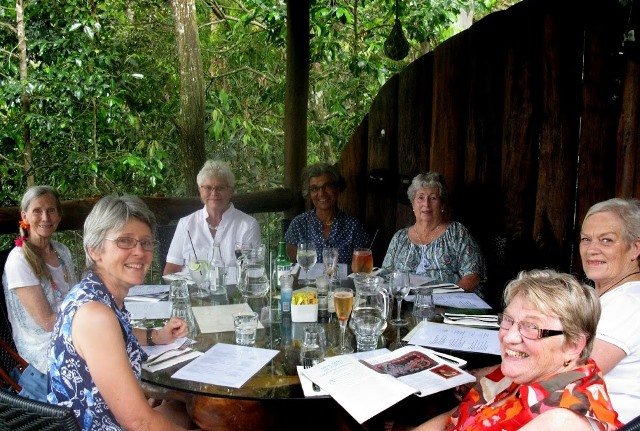 Sunshine_Coast_Rugcrafters_End_of_Year_Lunch_Montville_QLD