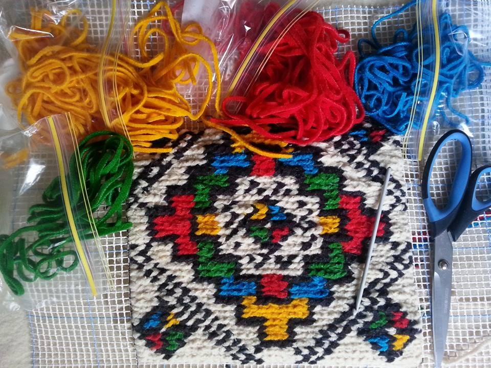 Romanian design from Kiras paternal grandmother