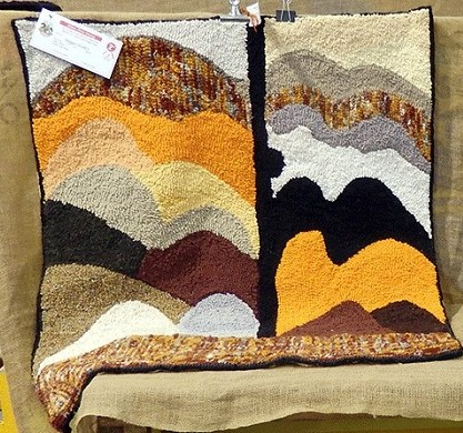 2016_Milton_Show_2nd_Hooked_Floor_Rug_by_Maggie_Hickey