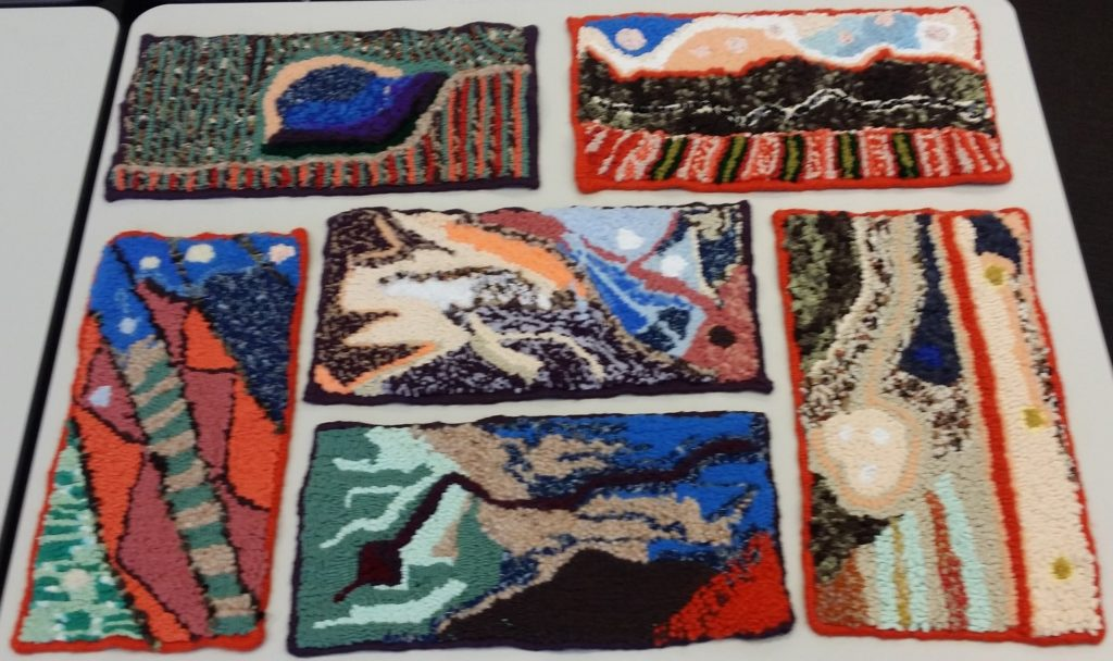 Wanneroo_Rugmakers_West_Aust_Yvonne's_hooked_ collage